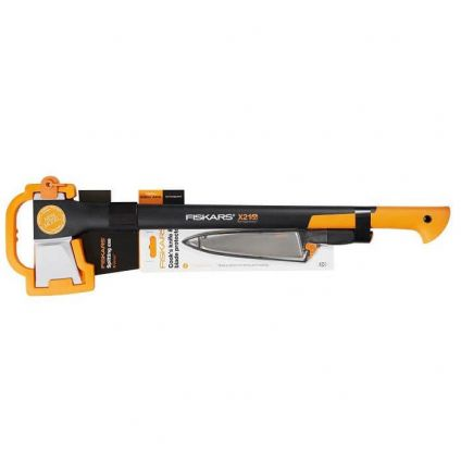 Набор Fiskars Splitting Axe L X21 + Нож Fiskars FunctionalForm 20 cm 1023883