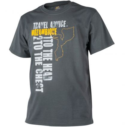"Футболка T-shirt Helikon ""Travel Advice: Mozambique"" Shadow Grey L TS-TAM-CO-35"
