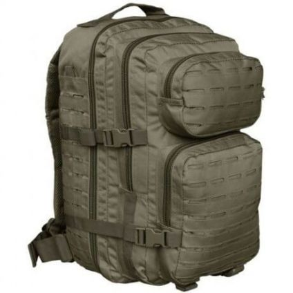 "Тактический рюкзак Mil-Tec ASSAULT ""L"" 36 L LASER CUT Olive 14002701"