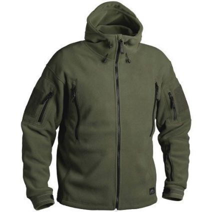 Кофта Helikon Patriot Heavy Fleece Jacket-Olive Green XL/regular BL-PAT-HF-02
