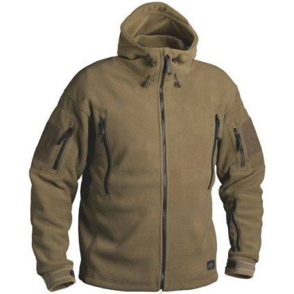 Кофта Helikon-Tex Patriot Heavy Fleece Jacket-Coyote L BL-PAT-HF-11