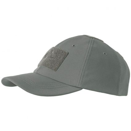 Бейсболка Helikon Tactical Baseball Winter Cap Shark Skin Shadow Grey CZ-BBW-FS-35